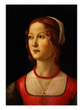 Portrait of Young Woman  1485