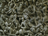 Battle between Roman and Germanic Armies  Relief on Marble Sarcophagus  180-190 AD Roman