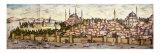 Sarayburnu  Seraglio Point  Hagia Sophia  the Blue Mosque and Topkapi Palace  late 16th century
