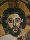 Christ in Glory  Fresco  6th century  from Monastery of Saint Jeremiah  Saqqarah  Egypt
