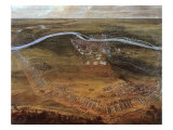 French Army Encampment at the Siege of Maastricht  29 June 1673