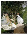 Femmes au jardin (Women in the Garden)  1866-67