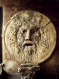 La Bocca della VeritThe Mouth of Truth)  Roman Relief of the Face of the Sea God Oceanus