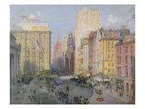 Fifth Avenue  New York  1913