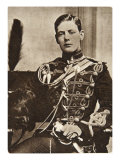 Sir Winston Churchill as a Lieutenant in the 4th Hussars in 1895