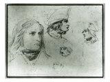 Sketches of Napoleon Bonaparte  1797