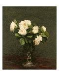 White Roses  1875