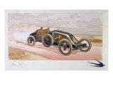 A Renault Racing Car  1908