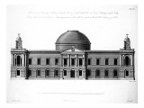 The South Elevation of Register House  Edinburgh  Engraved by J Roberts  1773