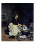 The Kitchen Maid Washing-Up