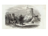 Windsor Castle - the Round Tower  from The Illustrated London News  26th September 1846