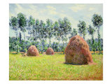 Haystacks at Giverny  1884