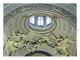 View of the Cupola with Angel Musicians from the Fonseca Chapel