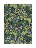 Seaweed Wallpaper Design  printed by John Henry Dearle