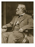 General Robert E Lee Sitting in His House in Richmond  1865