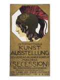 Poster for an Exhibition of Secessionist Art  1893