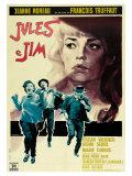 Jules and Jim  Italian Movie Poster  1961