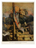 Illustration from 'Treasure Island' by Robert Louis Stevenson  1911