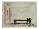 Billiard Players at Petworth House  1830