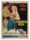 River of No Return  Italian Movie Poster  1954