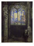 The Stained Glass Window  1904