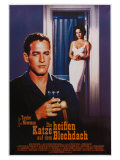 Cat on a Hot Tin Roof  German Movie Poster  1958