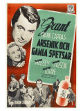 Arsenic and Old Lace  Swedish Movie Poster  1944