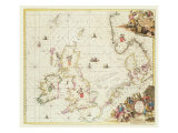 Map of the North Sea  c1675