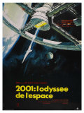 2001: A Space Odyssey  French Movie Poster  1968