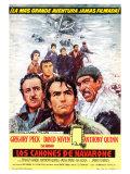 The Guns of Navarone  Spanish Movie Poster  1961