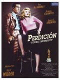 Double Indemnity  Spanish Movie Poster  1944