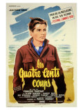 400 Blows  French Movie Poster  1959