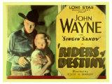 Riders of Destiny  1934