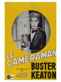 The Cameraman  French Movie Poster  1928