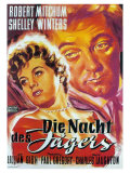 The Night of the Hunter  German Movie Poster  1955