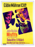 The Misfits  French Movie Poster  1961