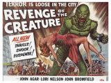 Revenge of the Creature  UK Movie Poster  1955