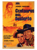 The Searchers  Spanish Movie Poster  1956