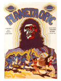 Planet of the Apes  Czchecoslovakian Movie Poster  1968