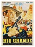 Rio Grande  Mexican Movie Poster  1950