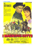 The Magnificent Seven  Italian Movie Poster  1960