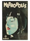 Metropolis  UK Movie Poster  1926