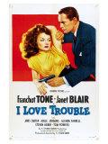 I Love Trouble  1948