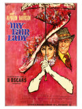 My Fair Lady  German Movie Poster  1964