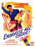 Kiss Me Kate  French Movie Poster  1953