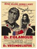 Dr Strangelove  Belgian Movie Poster  1964