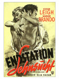 A Streetcar Named Desire  German Movie Poster  1951