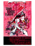 My Fair Lady  Belgian Movie Poster  1964