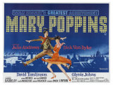 Mary Poppins  UK Movie Poster  1964