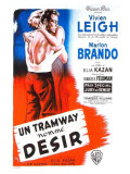 A Streetcar Named Desire  French Movie Poster  1951